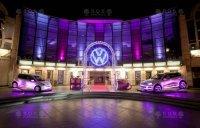 Logotipo iluminado Volkswagen