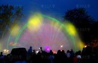 Espectáculo y proyecciones de luz