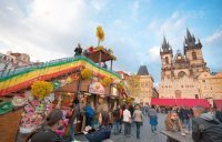 Decoración Mercados Pascua, Praga Staroměstské náměstí