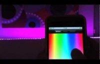 Cambio de colores de las decorraciones mediante aplicación